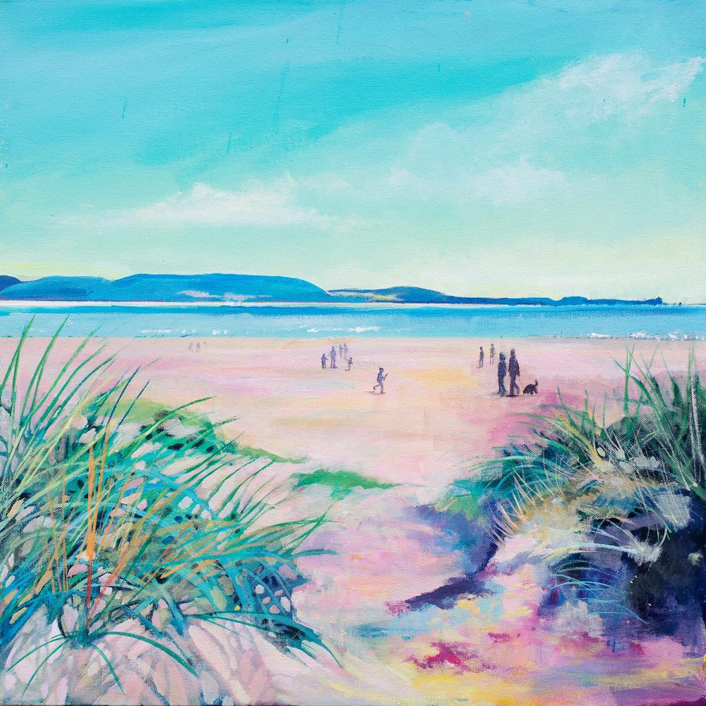Cefn Sidan Beach Art Print