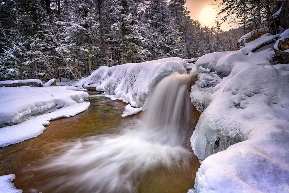 Diana's Baths on a Snowy Day   Shop Photography by Rick Berk