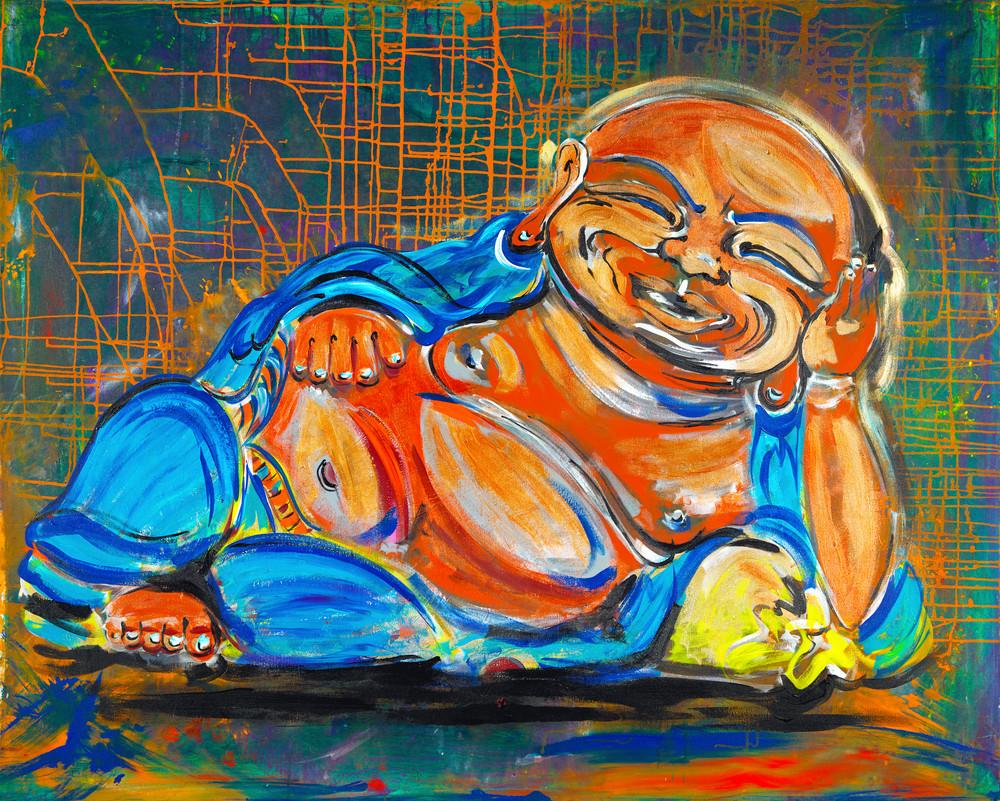 The Funky Buddha | Spiritual Art | JD Shultz Art