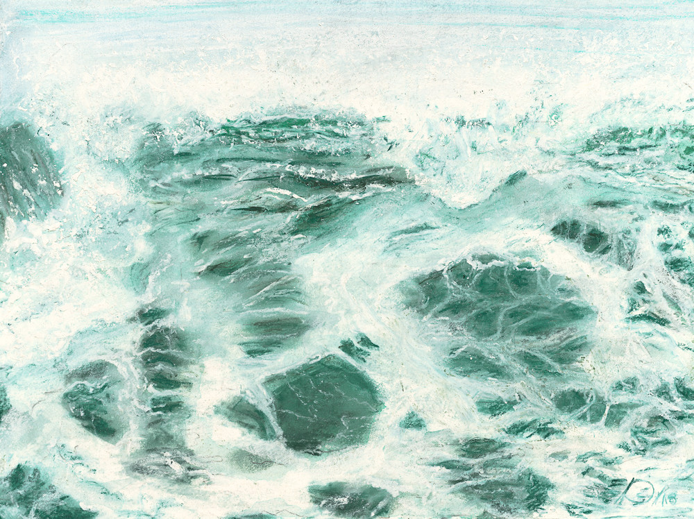 S.Gehring - Oregon Coast Wave Art - Building Wave
