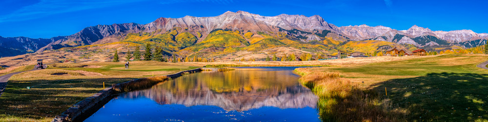 Telluride Golf Course In The Fall Photography Art | Peter Batty Photography