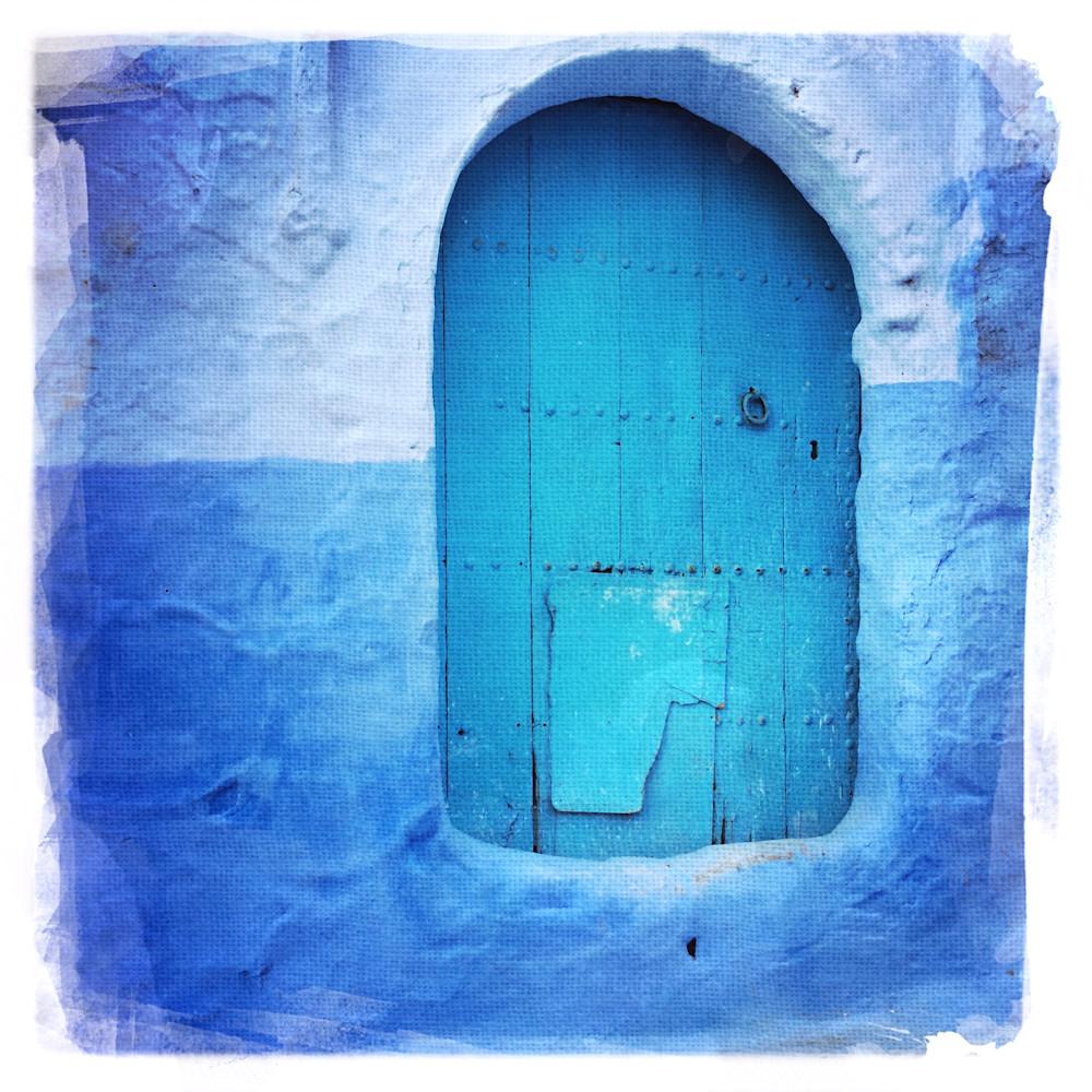 Chefchaouen Blue Walls 3 Art | photographicsart