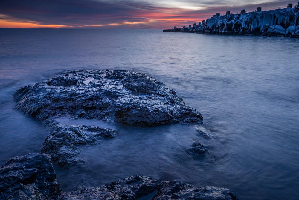 Lake Superior Winter Sunrises - Photographic Art Prints