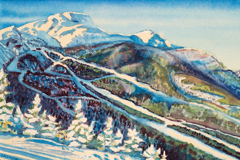 'The Chin' Stowe Art for Sale