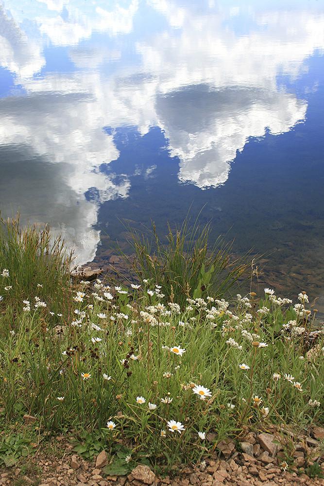 Lake Reflection Art | Fine Art New Mexico