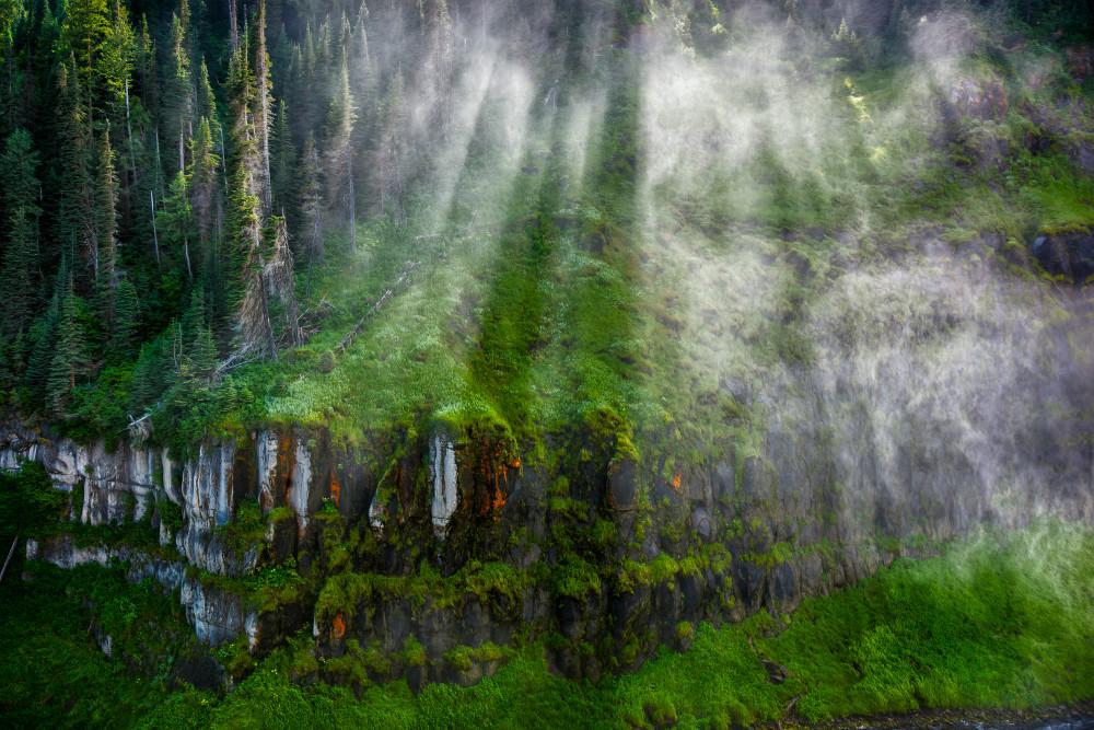 Mist, Upper Mesa Falls, Idaho