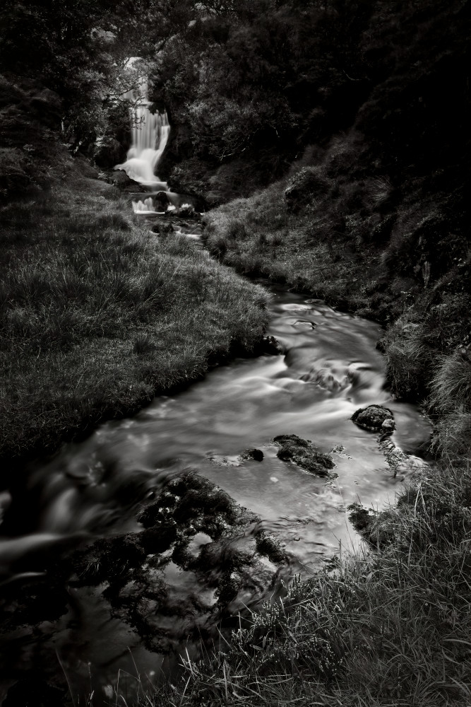 Waterfall Near Ardvreck Castle, Loch Asynt, Sutherland, Scotland