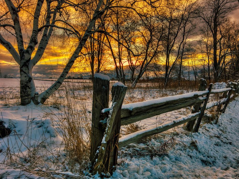Winter Sunrise Photography Art | FocusPro Services, Inc.