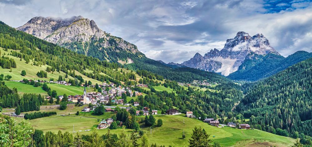 Dolomites Panorama 1 Lum Photography Art | RaberEYES