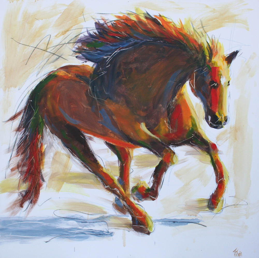 Wild At Heart Art   Thalia Kahl