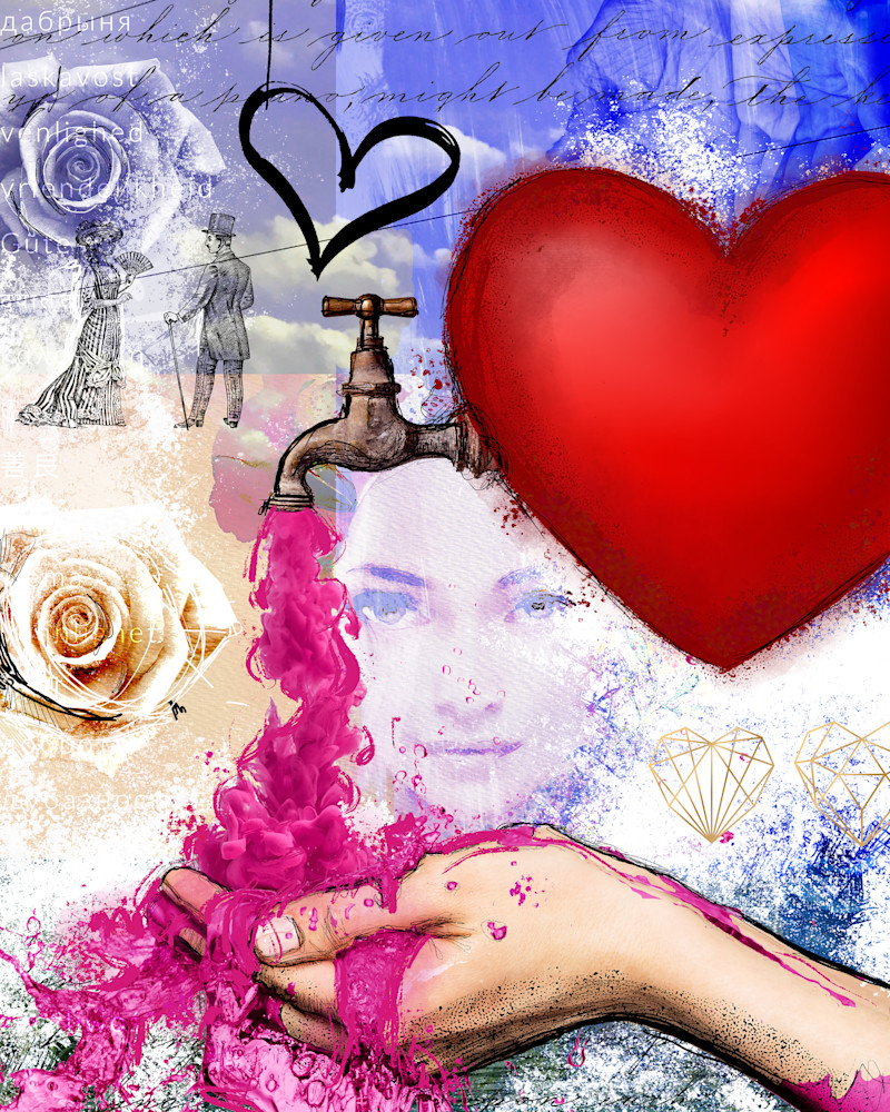 Heart Is Full Art | John Knell: Art. Photo. Design