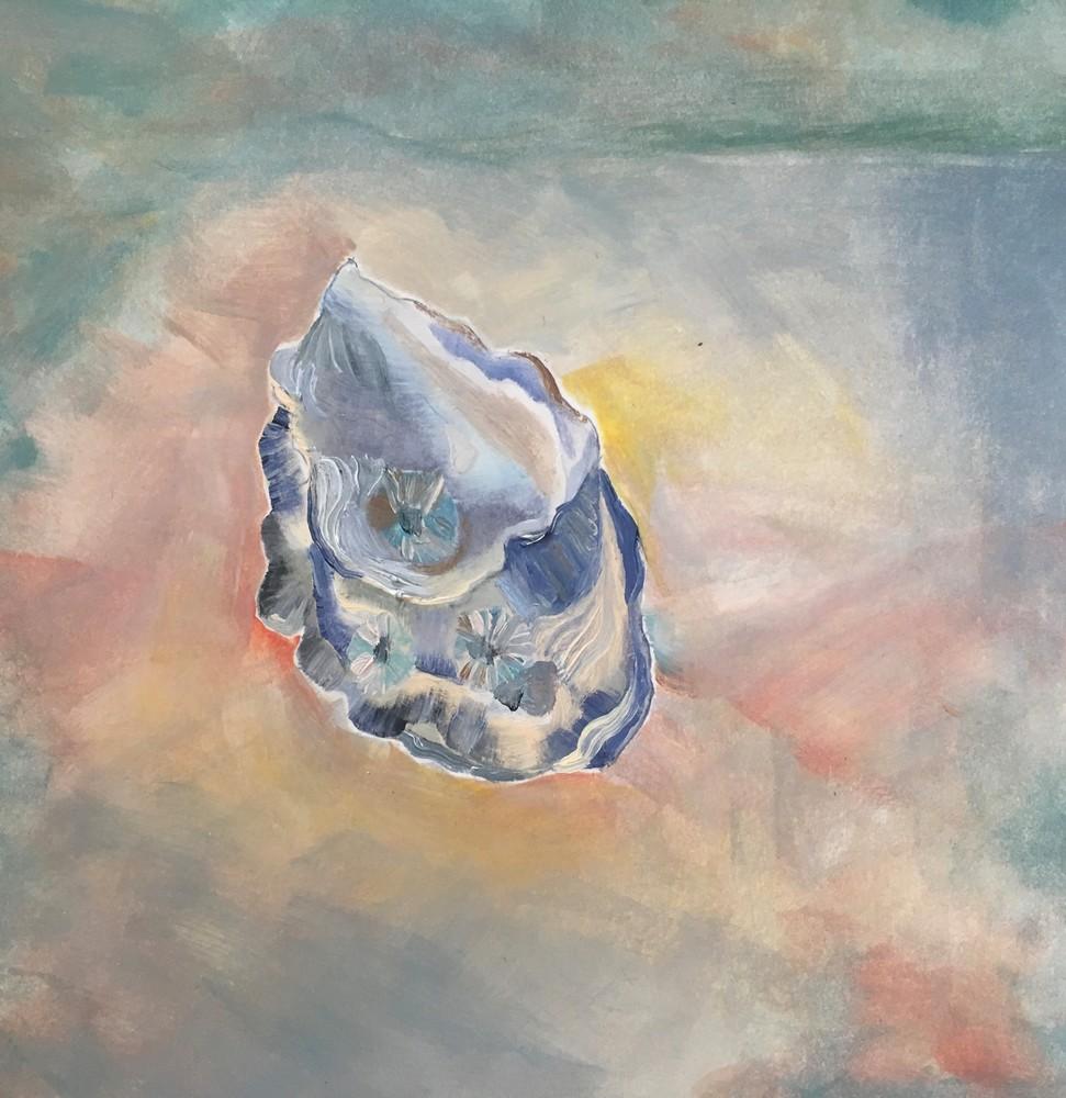 Oyster Sunset Art | Friday Harbor Atelier