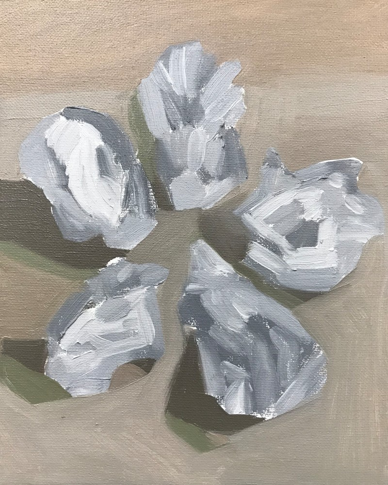 5 Oysters Art | Friday Harbor Atelier