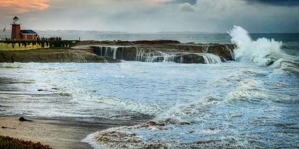 Santa Cruz Storm Photography Art   FocusPro Services, Inc.