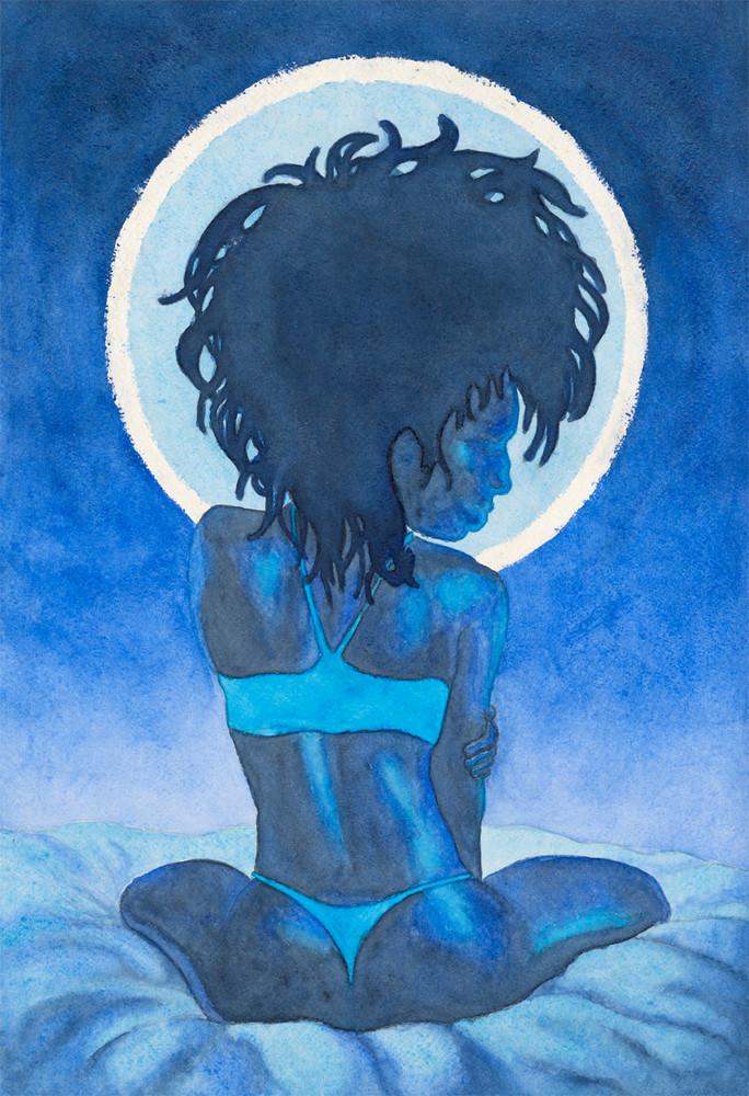 Moonlight Blues Art | Damon Powell - Artist & Theologian