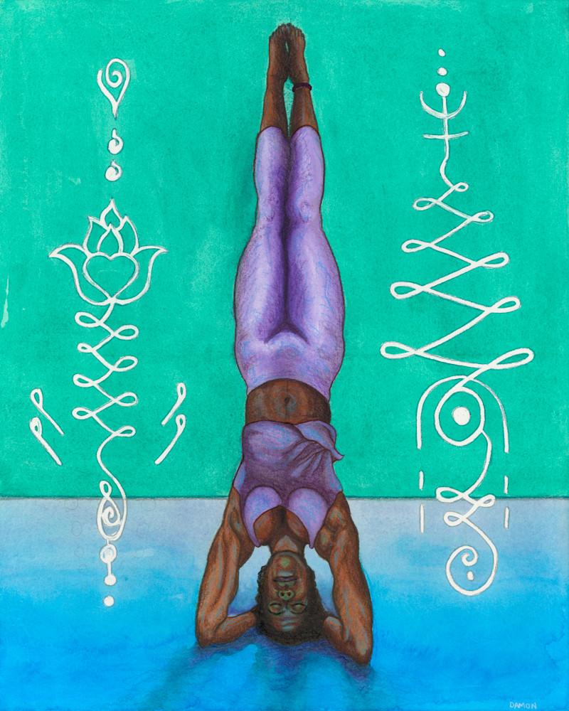 Head Stand Art | Damon Powell - Artist & Theologian