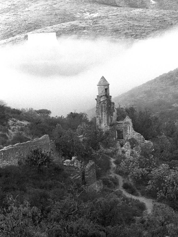 Foggy Morning Cinco Señores Mine Photography Art | Galeria Mañana