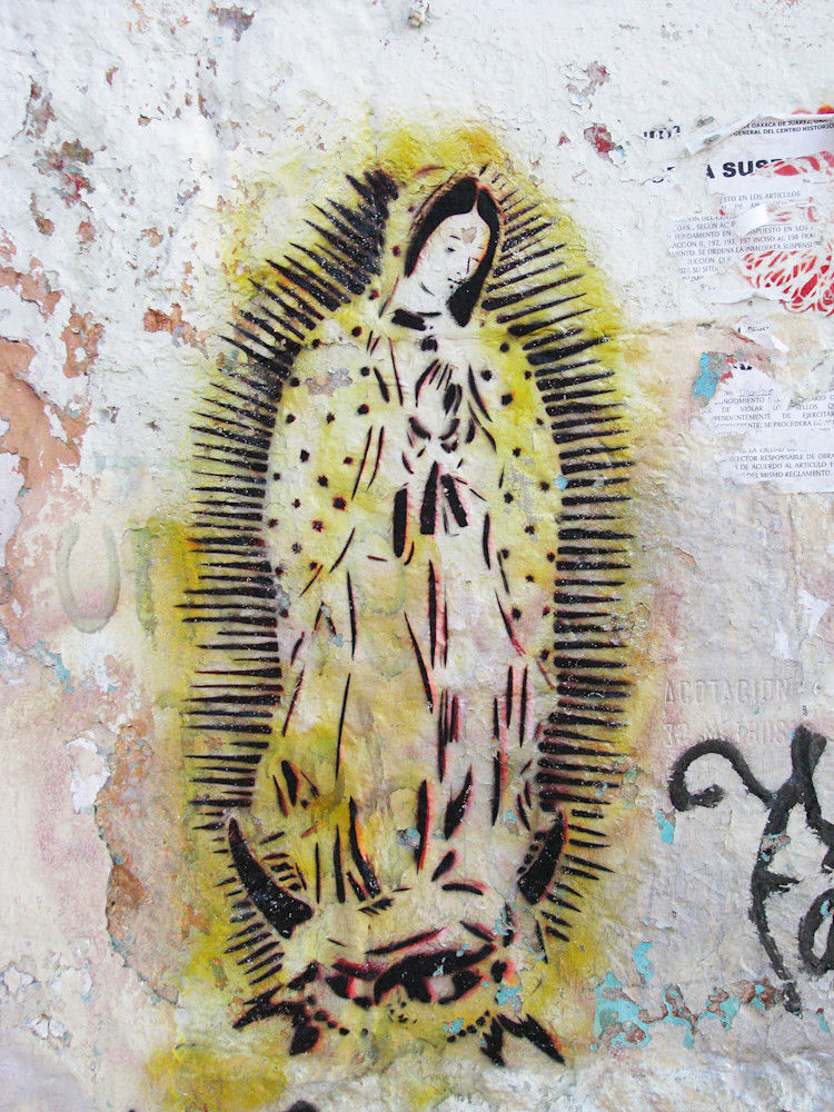 Virgen Amarillo Photography Art | Galeria Mañana