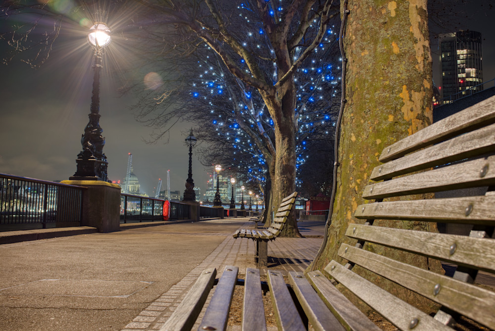 Winter Lights On The South Bank Photography Art | Martin Geddes Photography