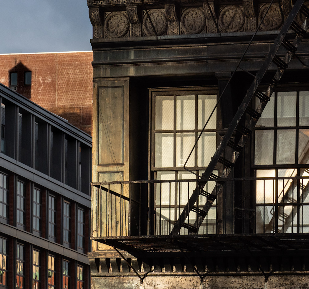 Two Windows Off Lafayette Street, Nyc Photography Art | Ben Asen Photography
