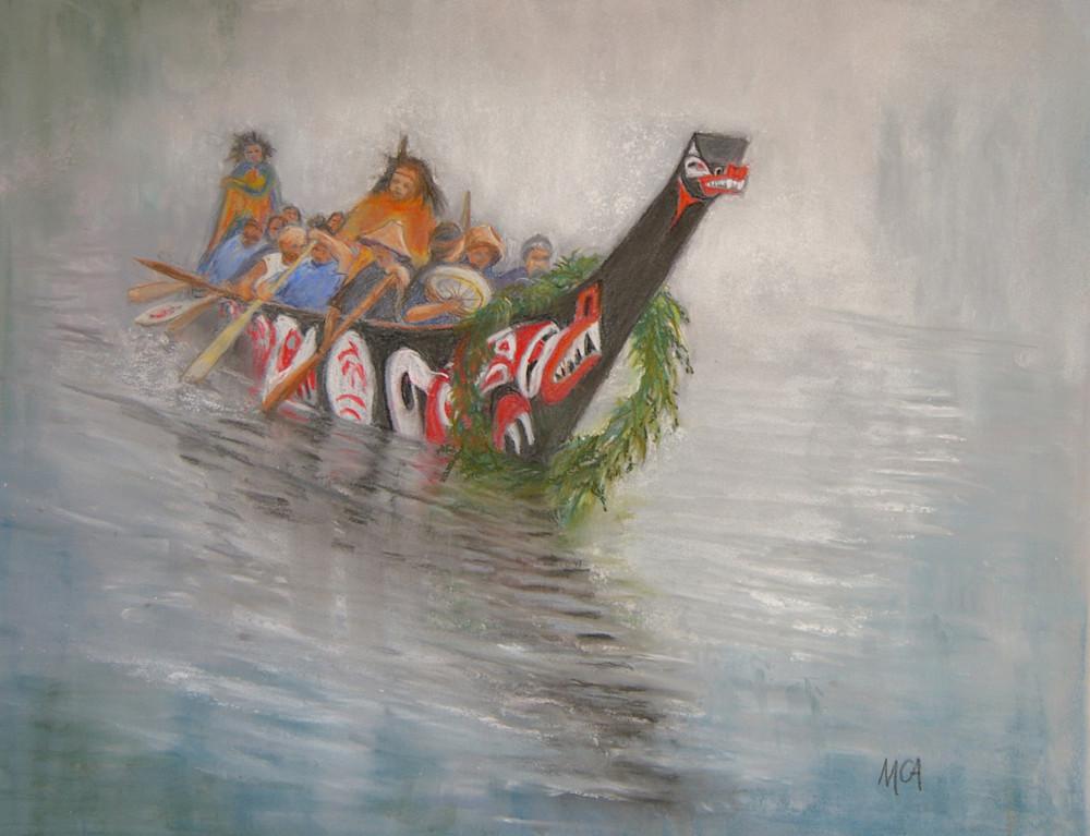 Margaret Carpenter Arnett - Canoe Journey