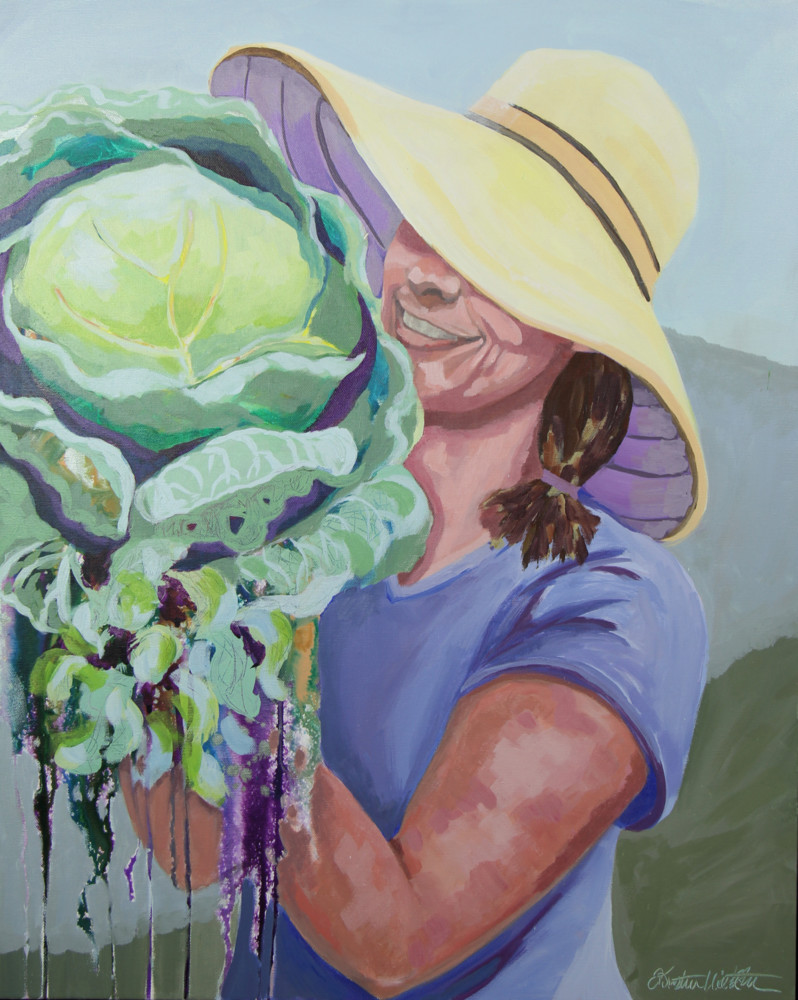 Two Heads Are Better Than One Art | Kristin Webster Art Studio