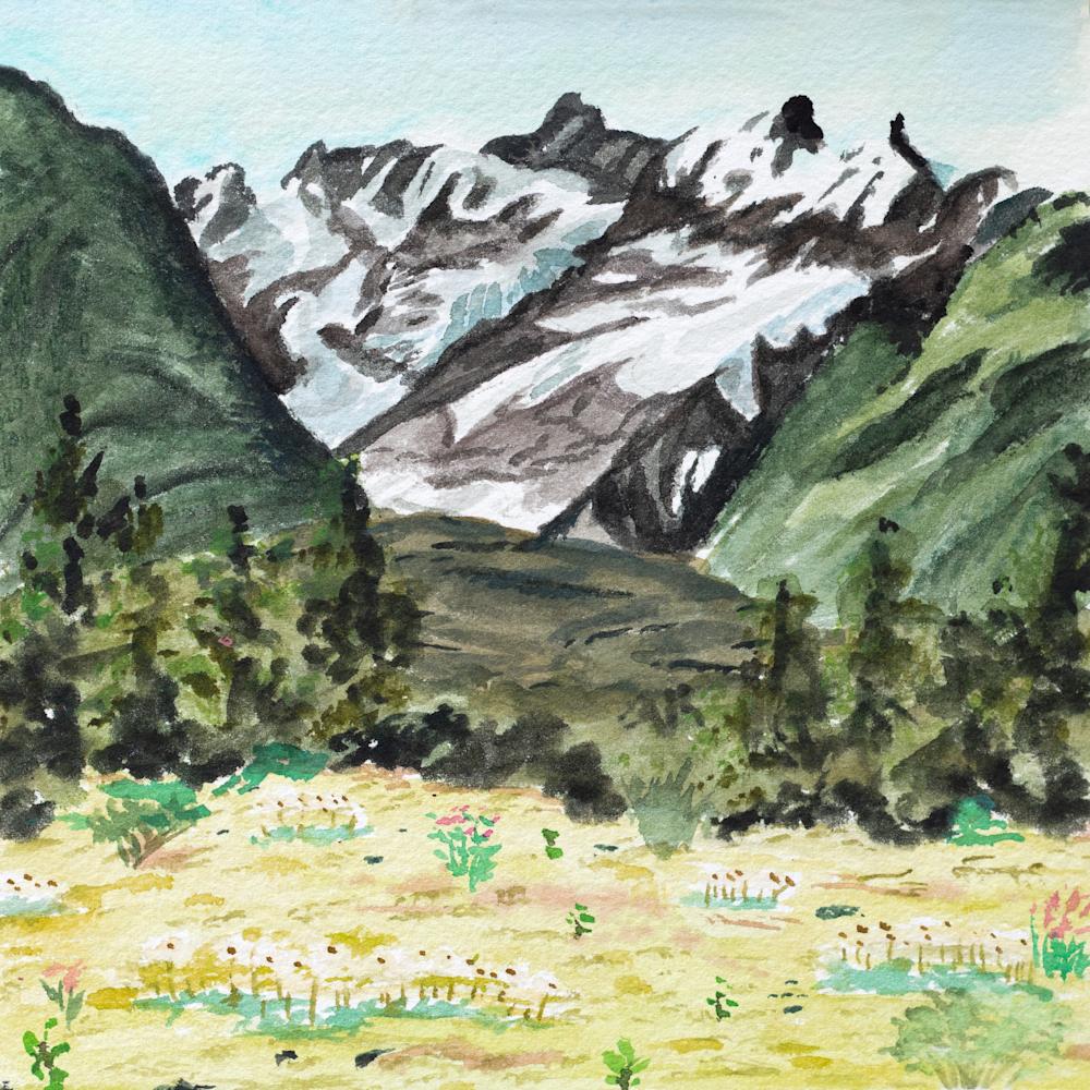 Alaska wildflower art for sale