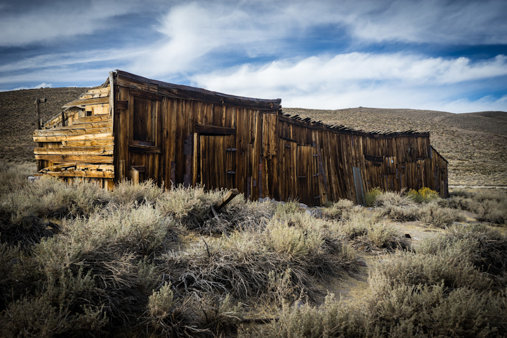 Long Forgotten - Bodie Ghost town California landscape architecture photograph print