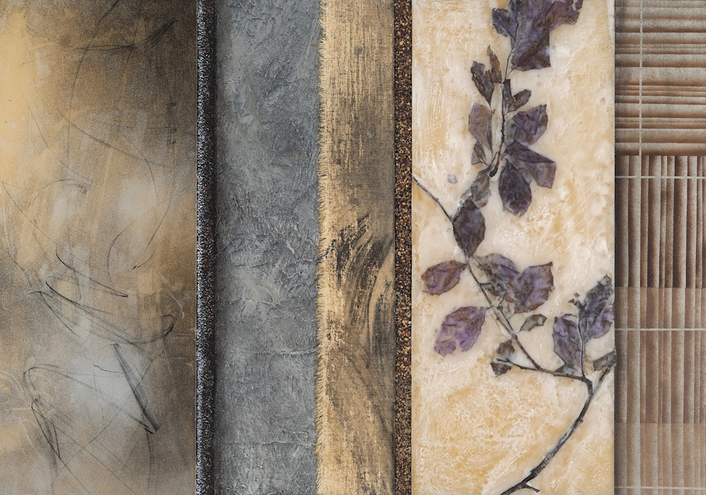 Burgundy Floral  (Print) Art   Laurie Fields Studio