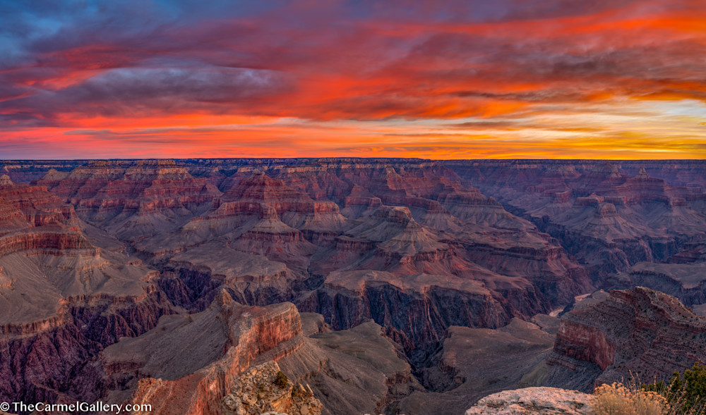 Hopi Point Sunrise, Grand Canyon Art | The Carmel Gallery