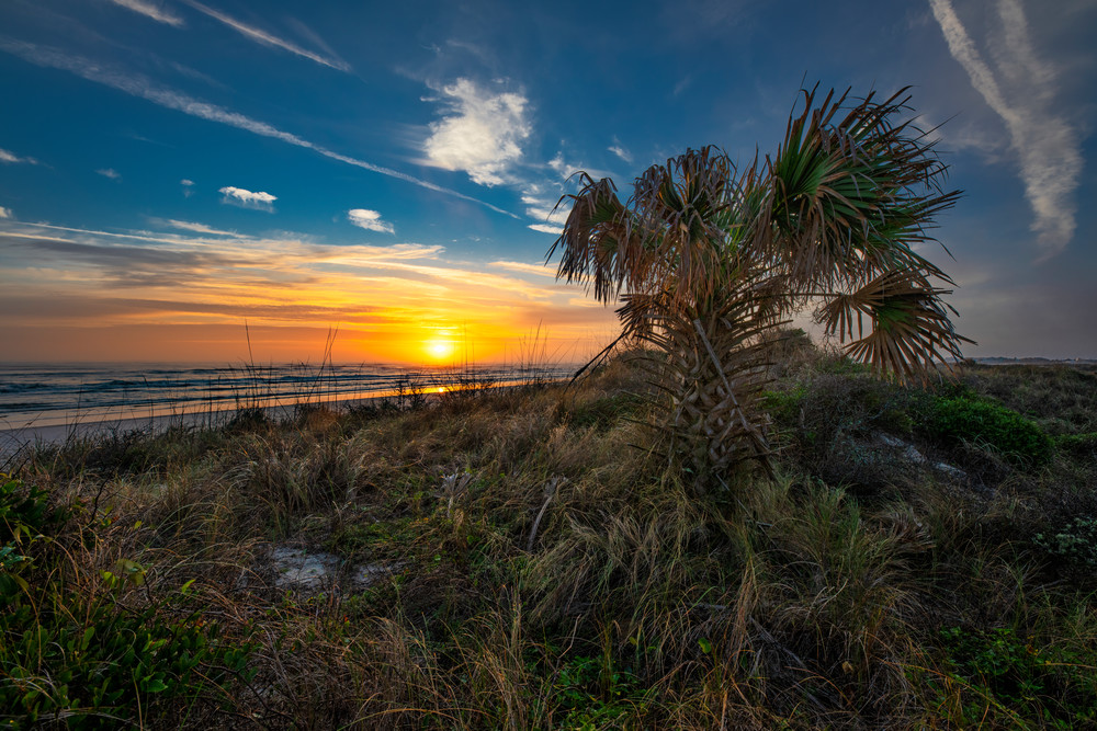 Sunrise over Fort Matanzas National Monument - Florida photography prints