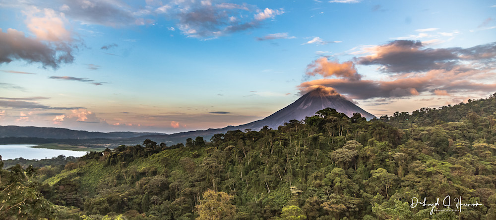 """""""Sunset at Arenal Volcano"""", PhotoDiscoveries"""