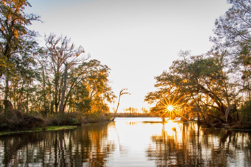 Madisonville sunset - Louisiana photography prints