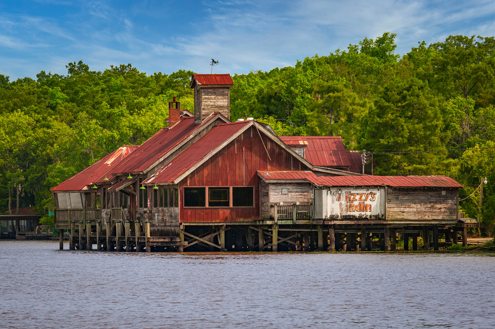 Tin LIzzy's Landin' - Louisiana photography prints