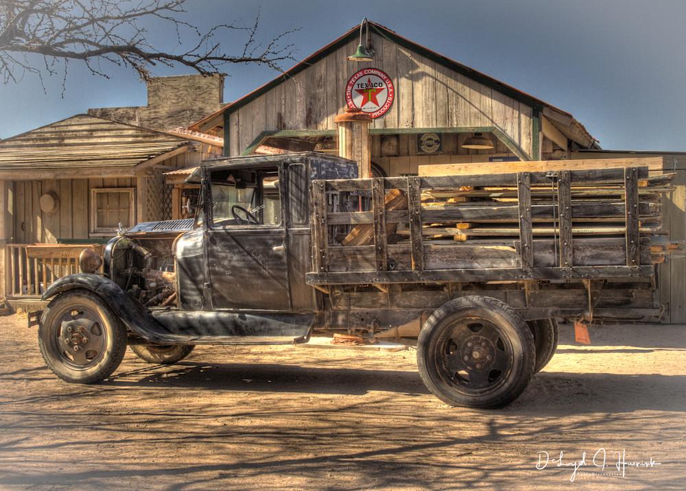 """Old  Black Truck"""