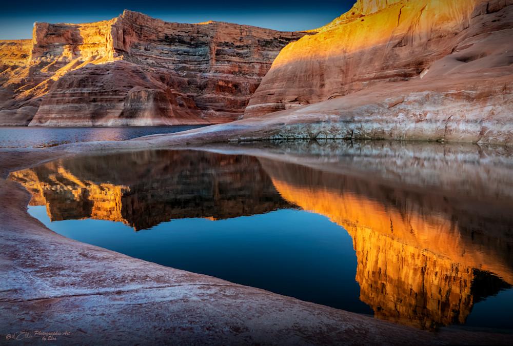 Lake Powell Pool Reflections, d'Ellis Photographic Art photographs, Elsa