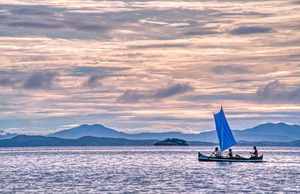 Blue sail, Madagascar, 2019.