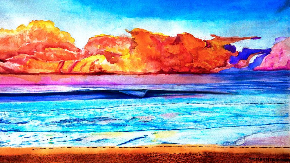 Psychedelic Wave Art   CruzArtz Fine Arts