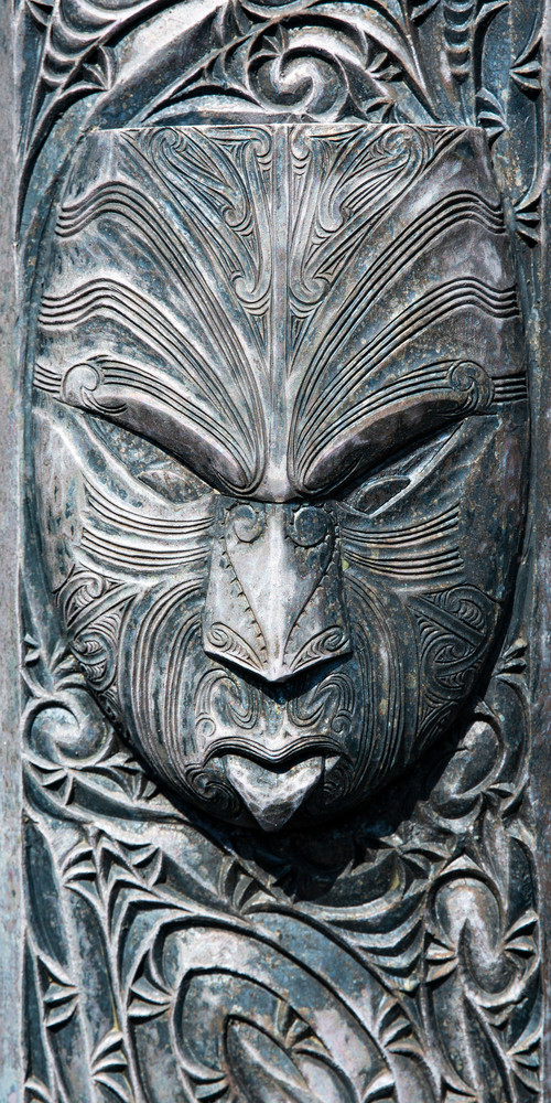 Maori Totem 1 Photography Art | Kristofer Reynolds Photography