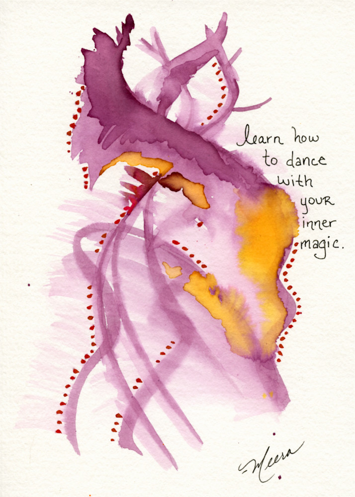 Dance with Your Inner Magic - art print
