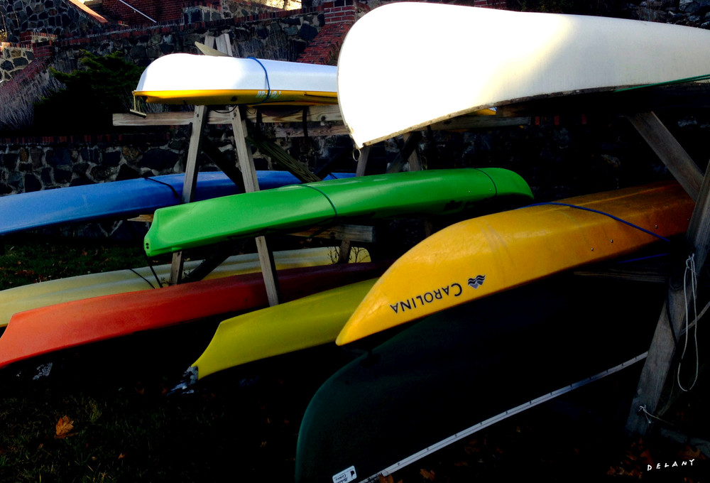 Riverside Kayak Display Photo