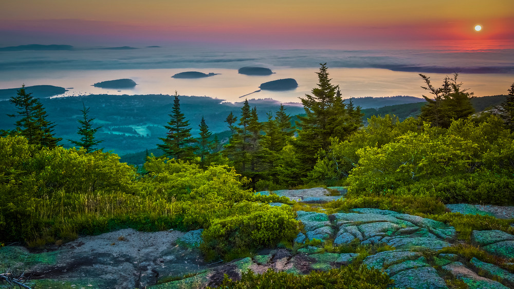 Cadillac Mountain    First Light  Photography Art | Monteux Gallery