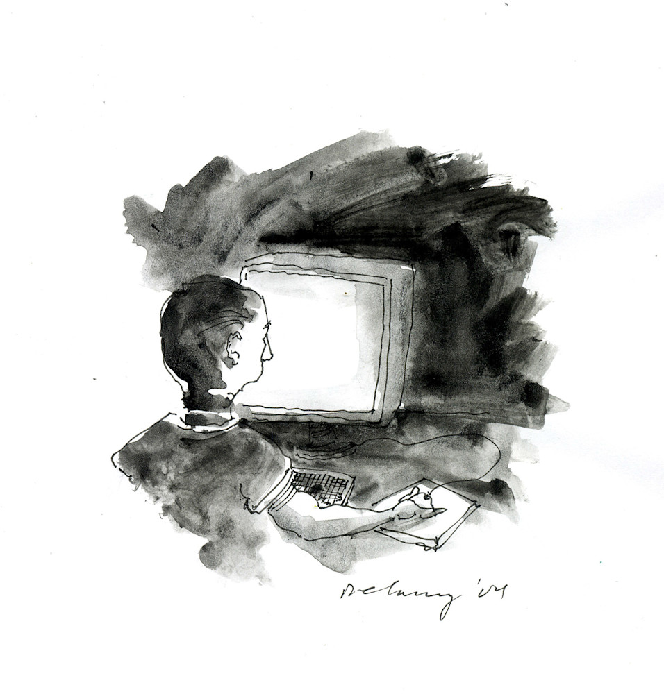 Computer Person #2 Art | DBA George Delany Art