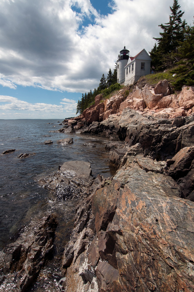 Bass Harbor Head Lighthouse Photography Art | Monteux Gallery
