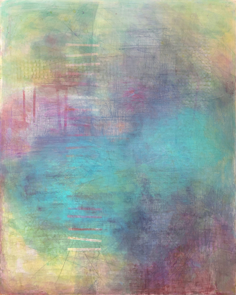 Water Optics – Original Abstract Painting & Prints | Cynthia Coldren Fine Art