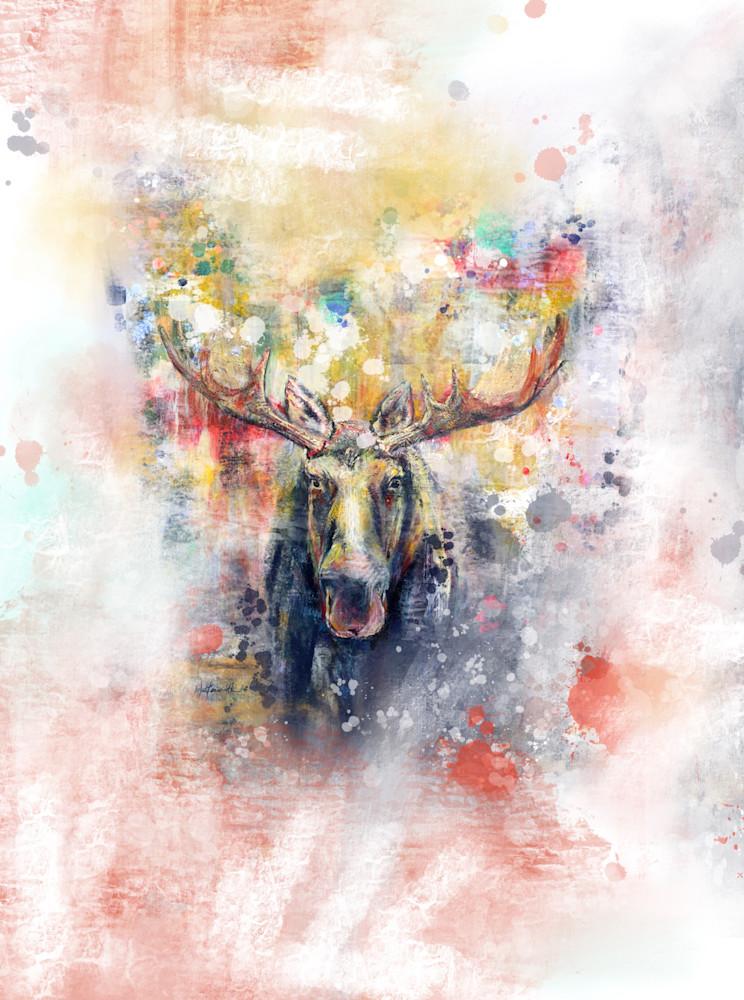 Mooser On White Art   Kristyn Watterworth