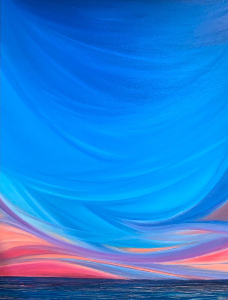 Sunset Love Art | Kristyn Watterworth