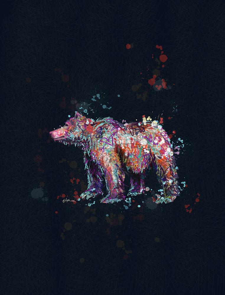 Bear Dark Art | Kristyn Watterworth