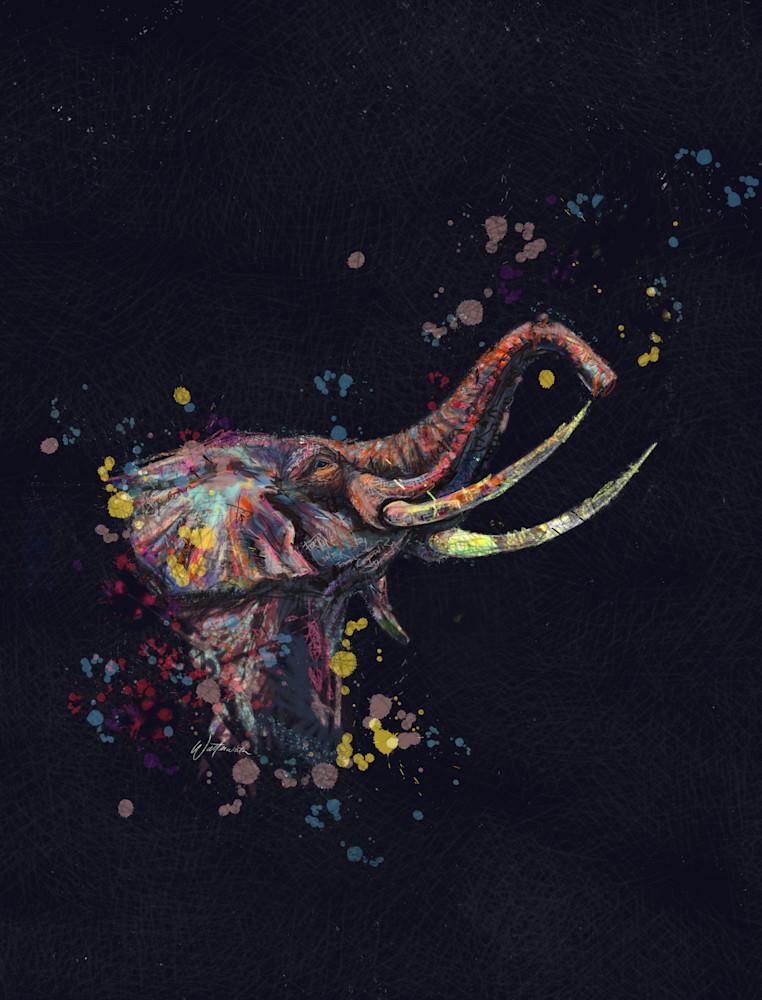 Elephant Dark Art | Kristyn Watterworth