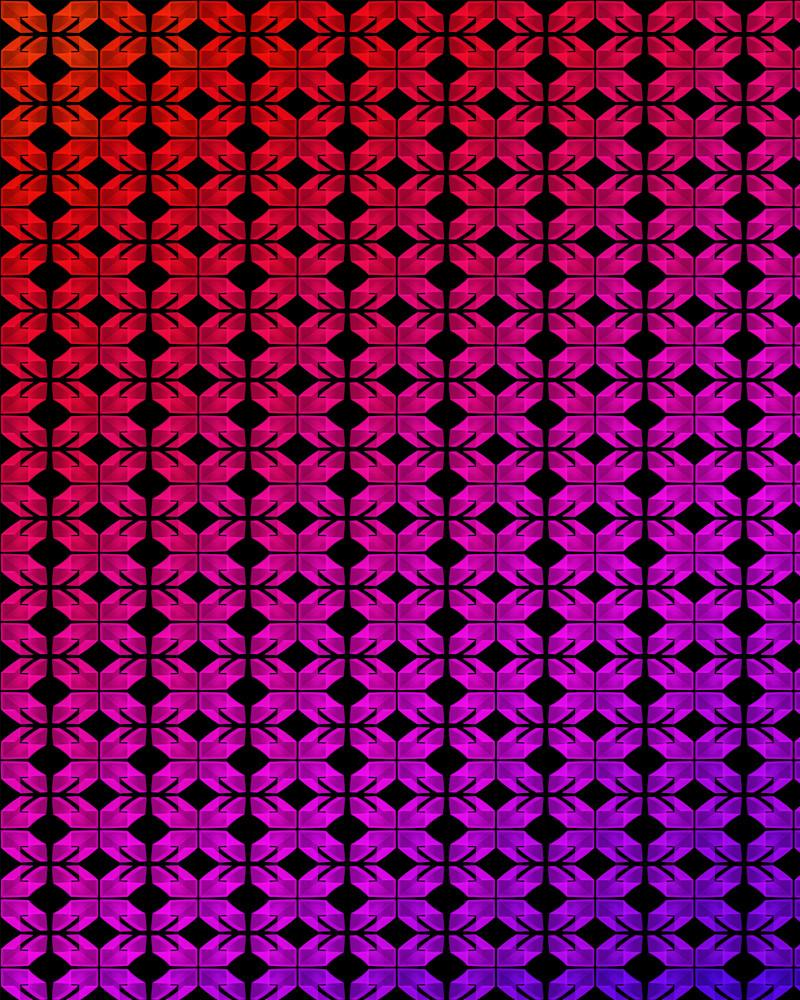 Page Street Neon Light Pattern 1 Photography Art | David Louis Klein